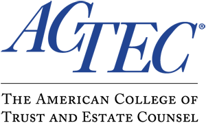 Logo of the American College of Trust and Estate Counsel (ACTEC)