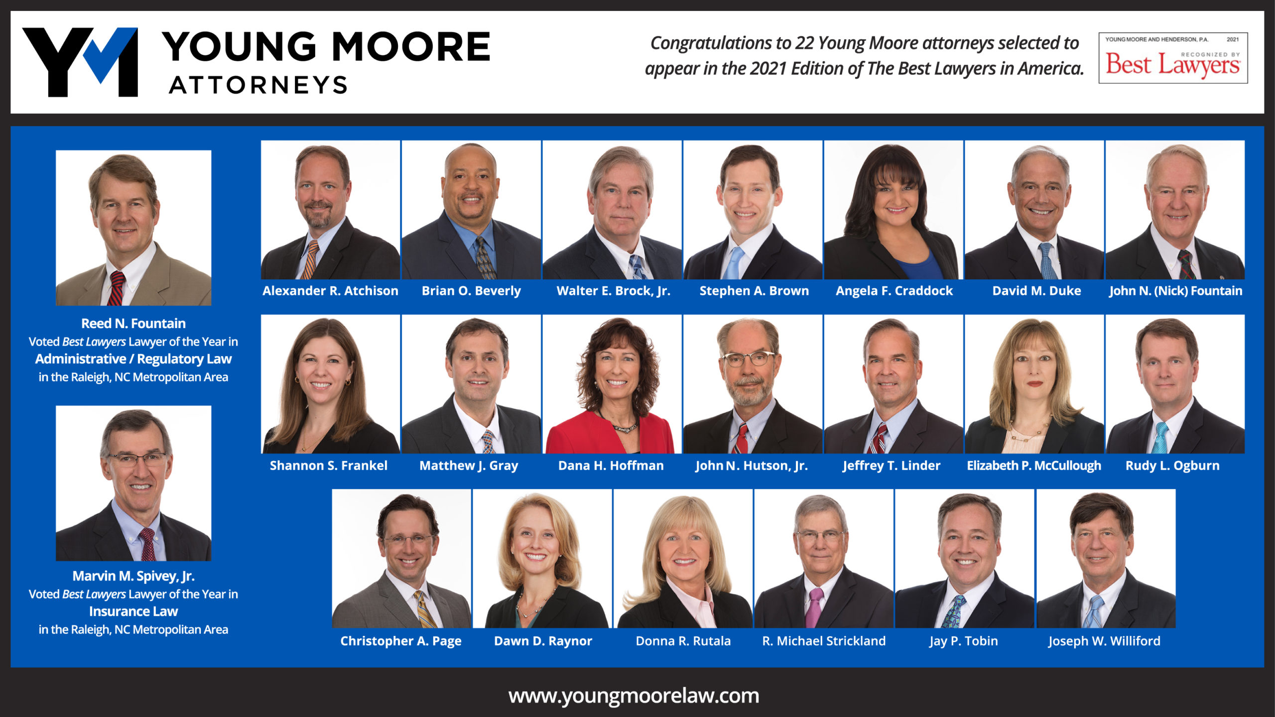 Best Jobs 2021 Without A Degree 22 Young Moore Lawyers Named to 2021 Best Lawyers® List   Young
